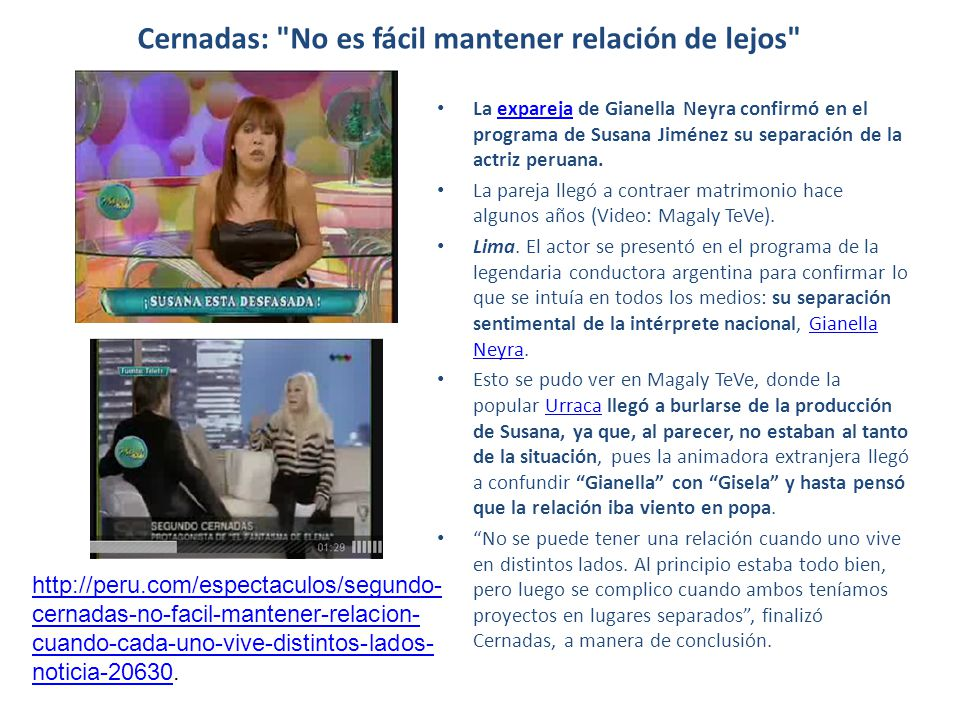 Cernadas: