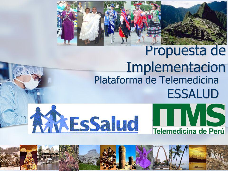 Propuesta de Implementacion Plataforma de Telemedicina ESSALUD