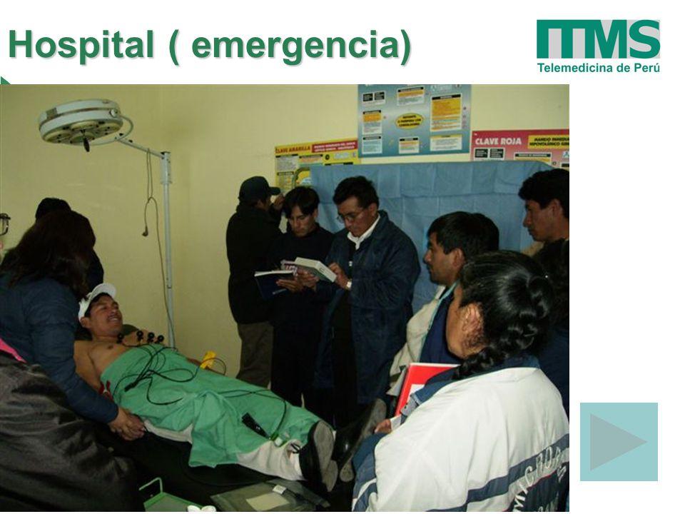 Hospital ( emergencia)