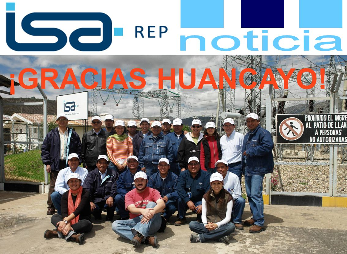 ¡GRACIAS HUANCAYO!