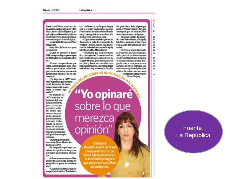 Fuente: Correo Peru 21