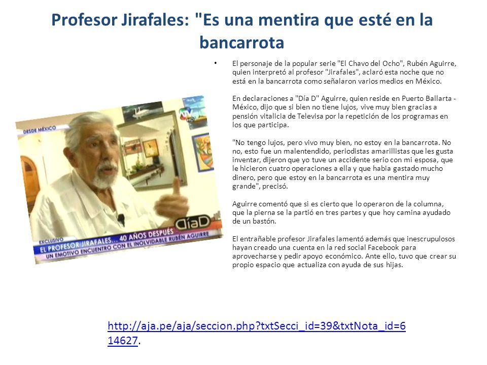 Profesor Jirafales: