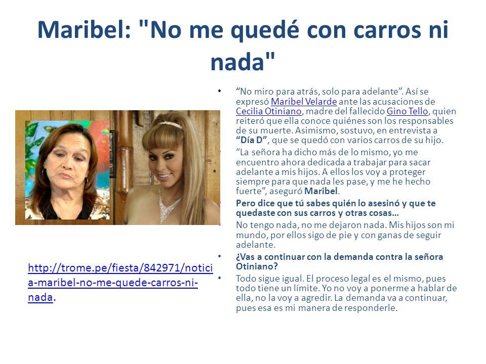 Maribel: