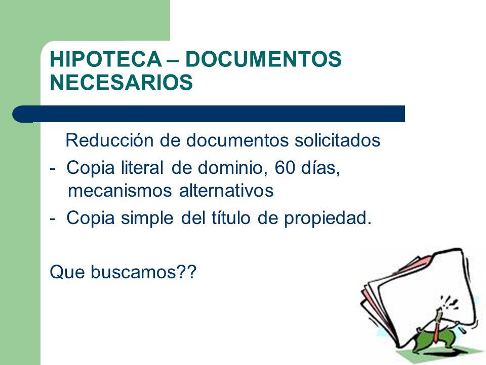 GARANTIAS MOBILIARIAS Hipoteca – Garantía Mobiliaria?.