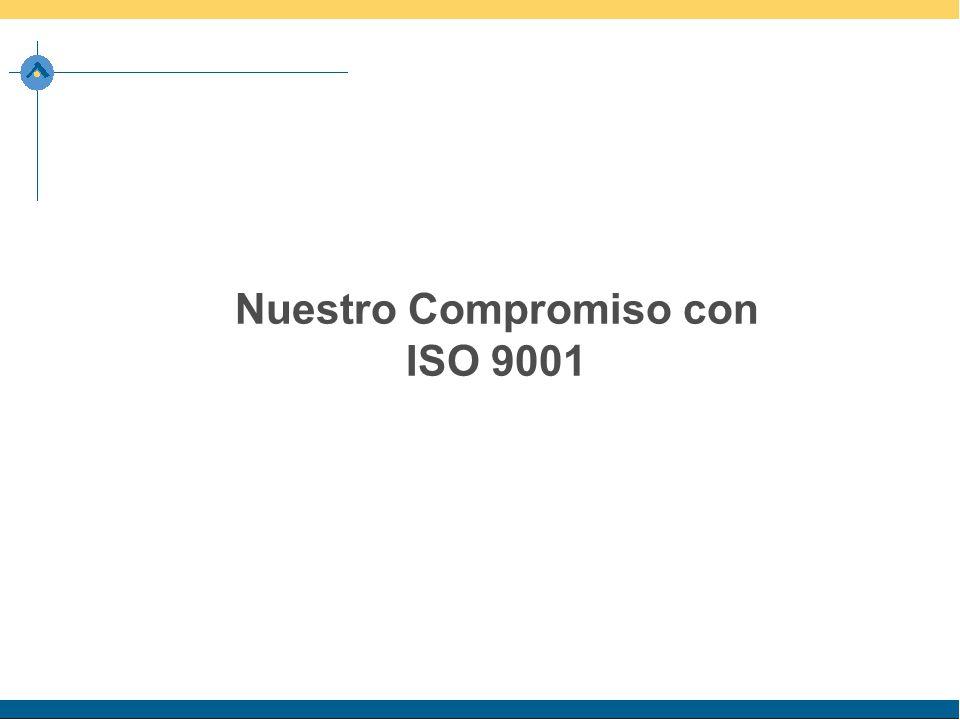 Nuestro Compromiso con ISO 9001