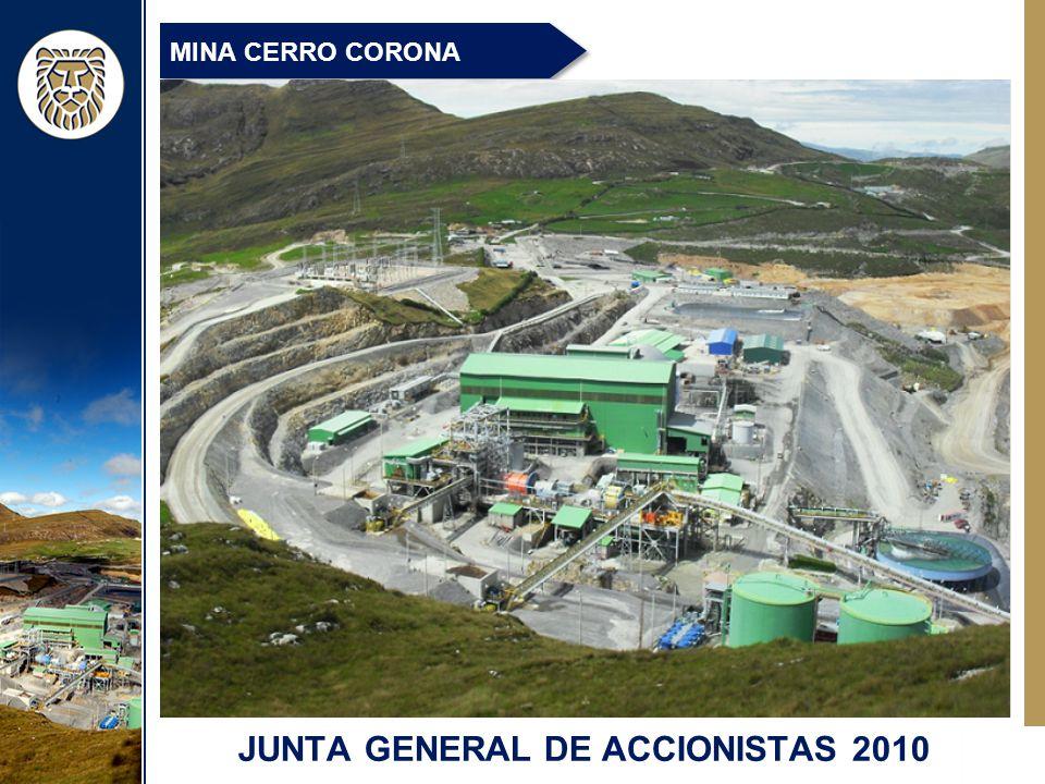 MINA CERRO CORONA JUNTA GENERAL DE ACCIONISTAS 2010