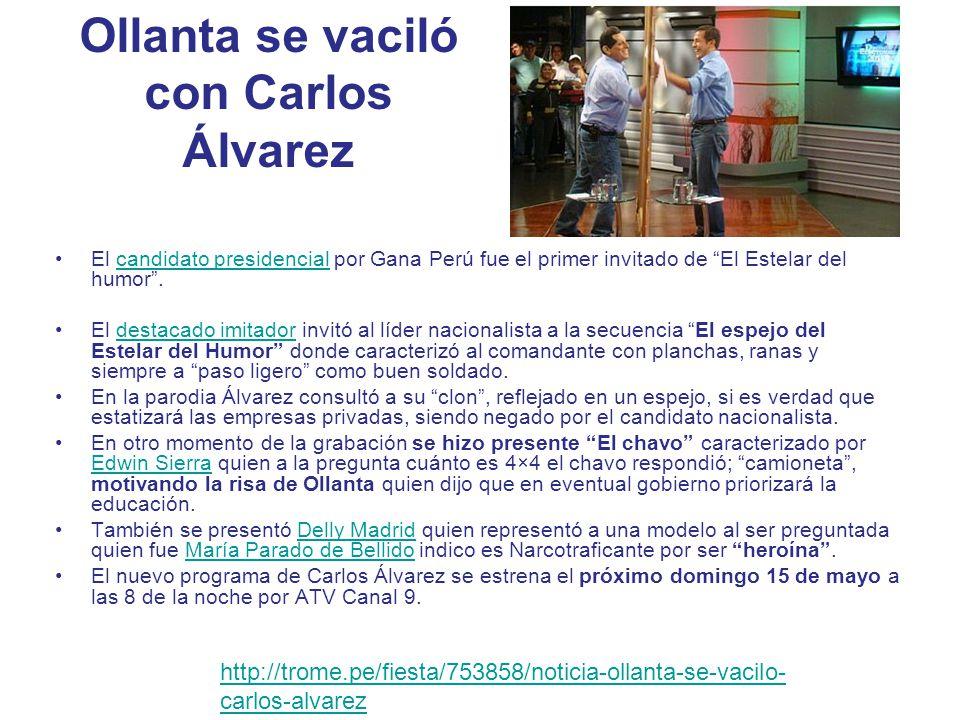 Álvarez: Aquí hacemos humor político A una semana de estrenar El estelar del humor en ATV, el imitador marcó distancia con su otrora programa El especial del humor.