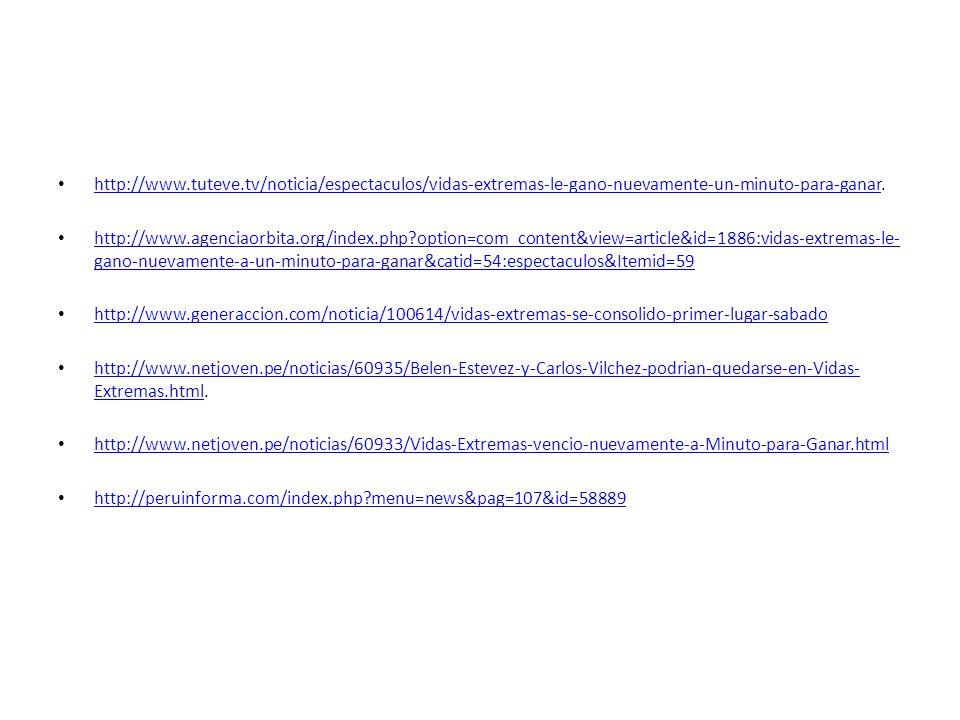 http://www.tuteve.tv/noticia/espectaculos/vidas-extremas-le-gano-nuevamente-un-minuto-para-ganar.