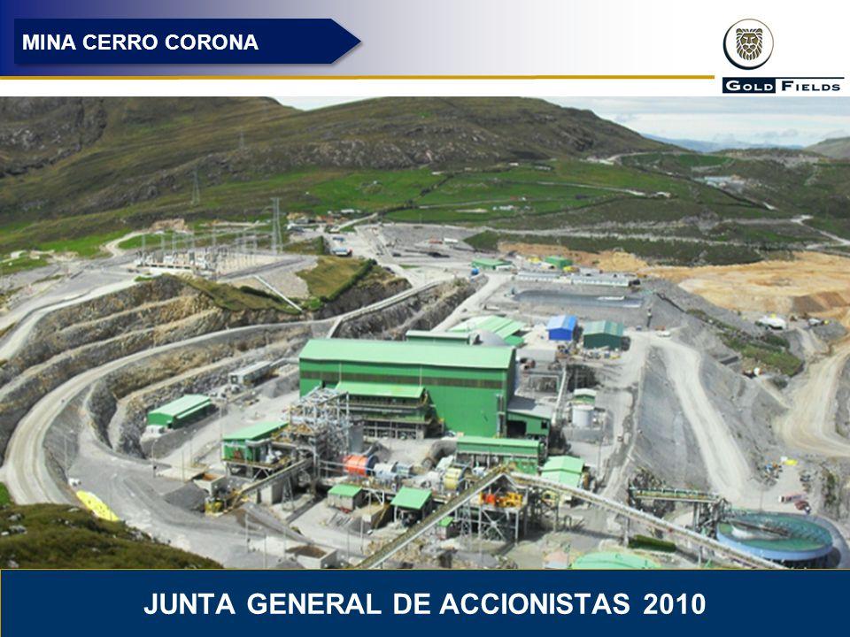 24 MINA CERRO CORONA JUNTA GENERAL DE ACCIONISTAS 2010
