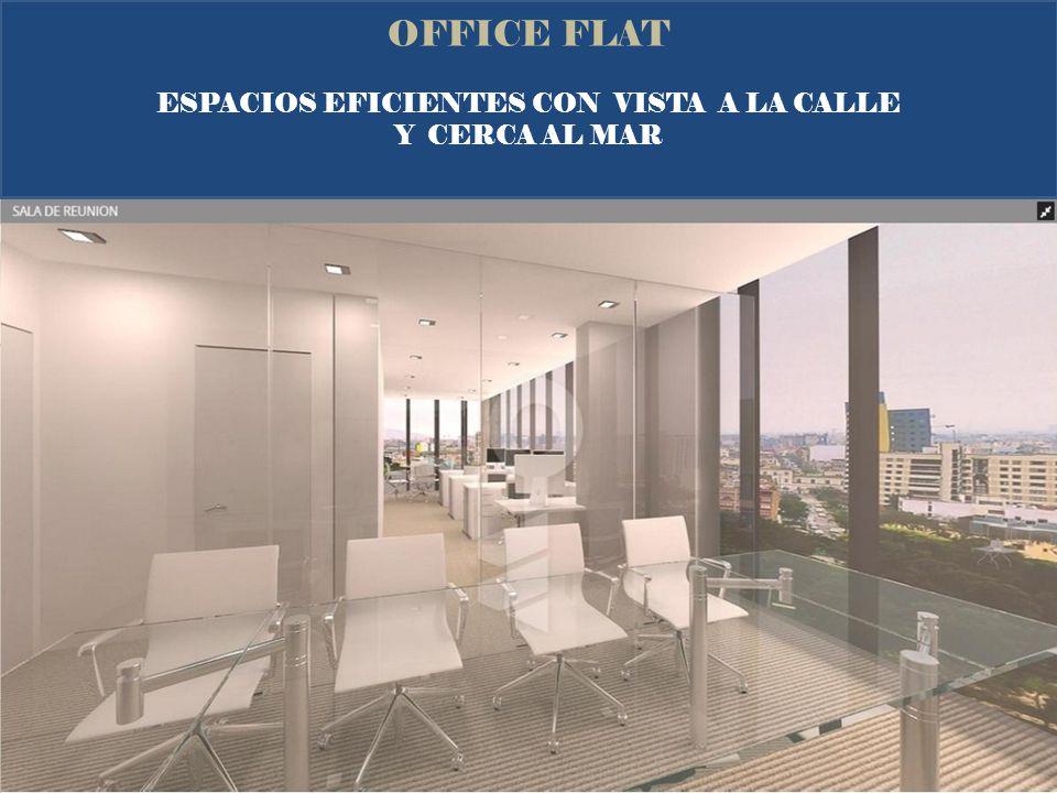 OFFICE FLAT PLANTA TÍPICA DE PISOS 3 A 6