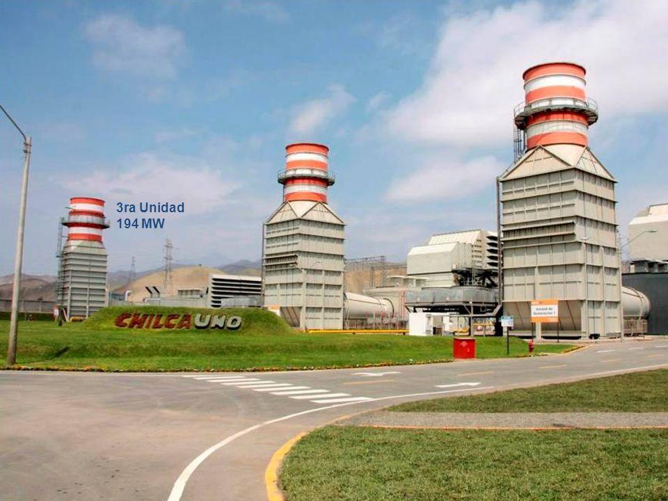 3ra Unidad 194 MW