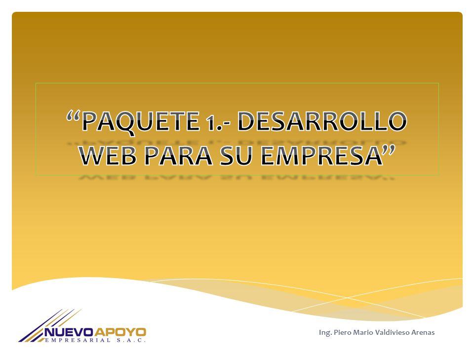 Ing. Piero Mario Valdivieso Arenas