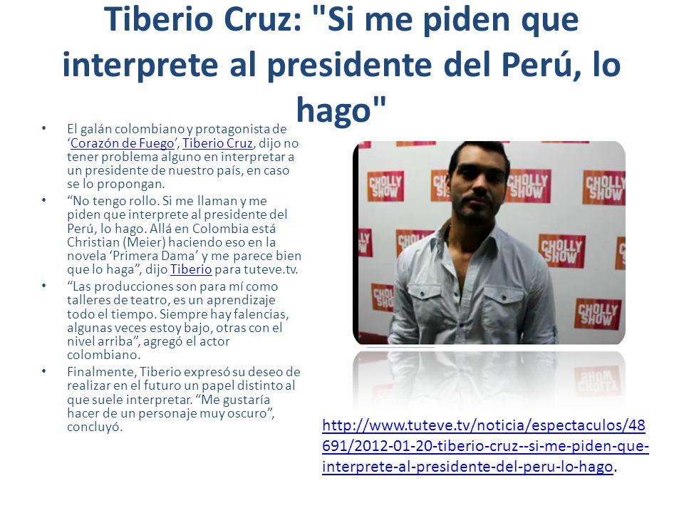 Tiberio Cruz: