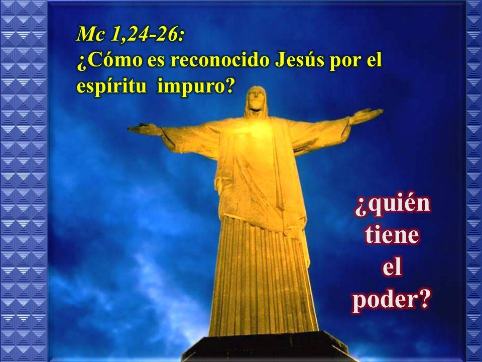 ¿Por qué se asombran de la enseñanza de Jesús?