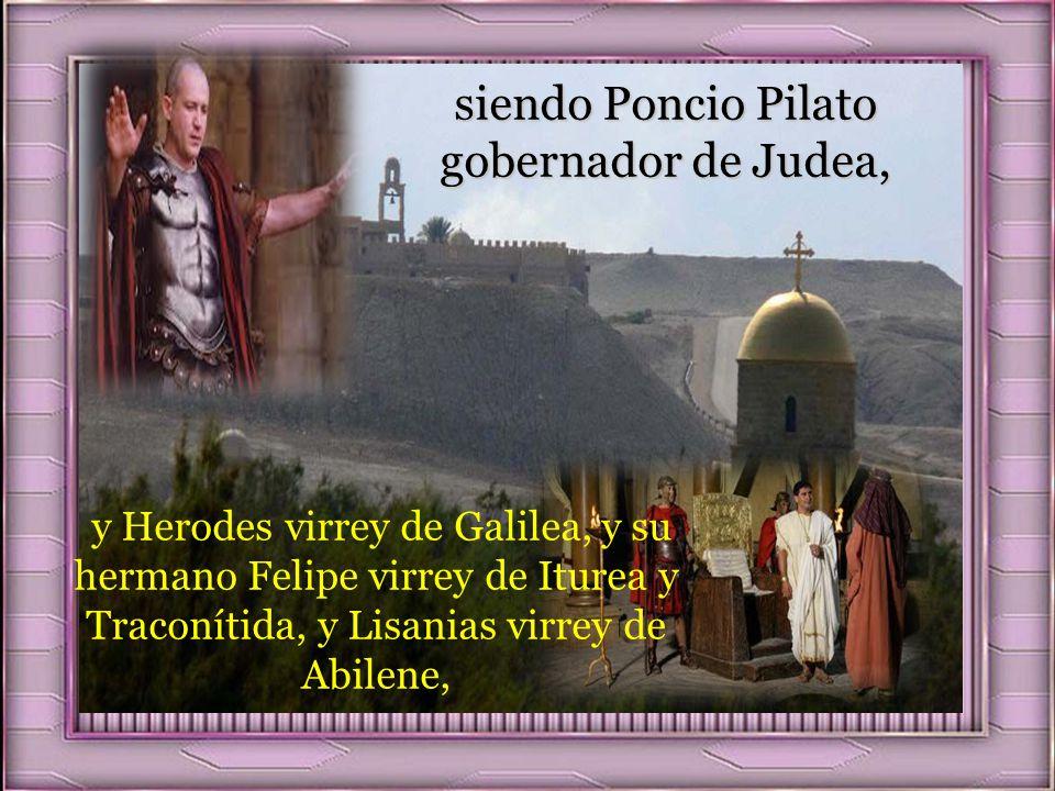 Lectura del Santo Evangelio según San Lucas, 3,1-6