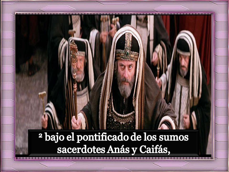 siendo Poncio Pilato gobernador de Judea, y Herodes virrey de Galilea, y su hermano Felipe virrey de Iturea y Traconítida, y Lisanias virrey de Abilen