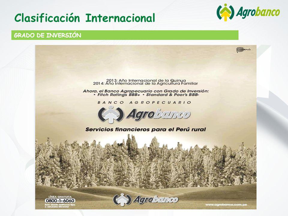 GRADO DE INVERSIÓN Clasificación Internacional
