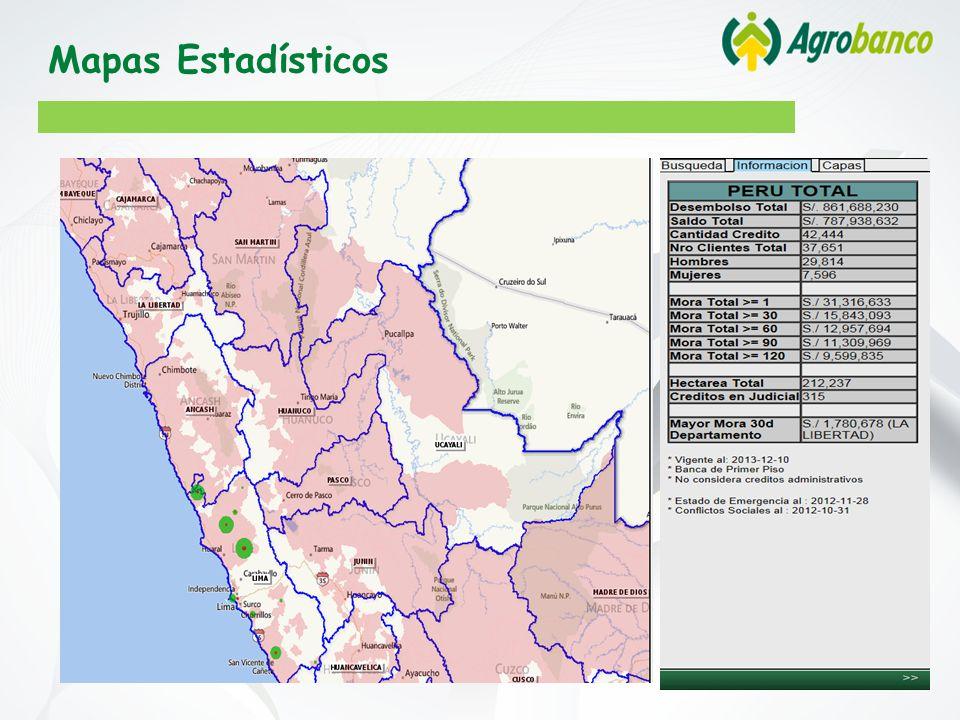 Mapas Estadísticos
