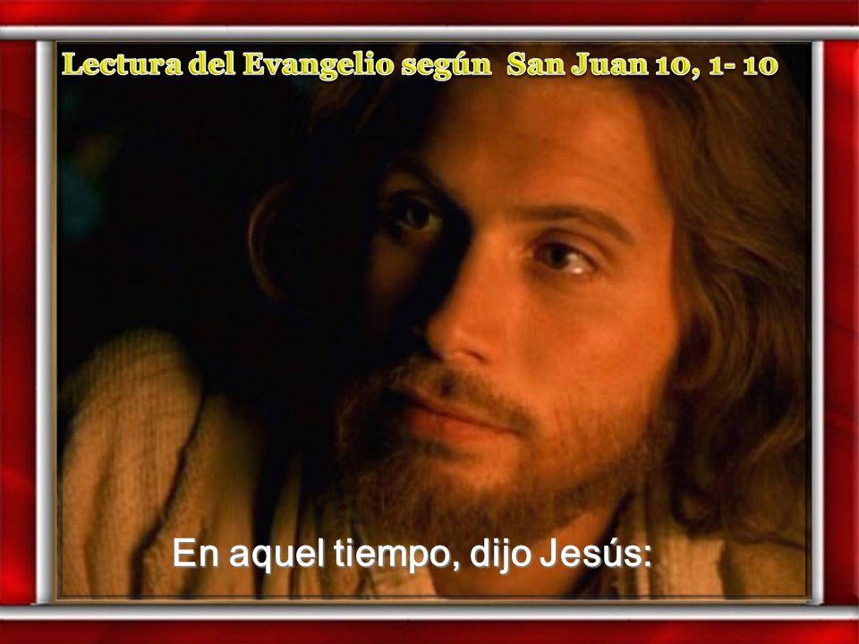 Motivación: Jesús nos dice hoy en el evangelio que él es la puerta para las ovejas. Motivación: Jesús nos dice hoy en el evangelio que él es la puerta
