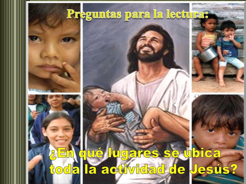 Lectura del evangelio según san Marcos, 1-29-39 Al salir de la sinagoga, Jesús se fue inmediatamente a casa de Simón y de Andrés, con Santiago y Juan.