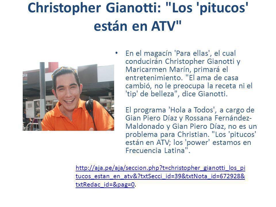 Christopher Gianotti: