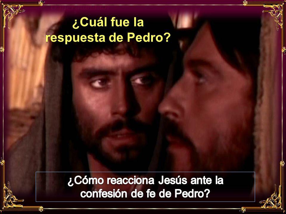 ¿Qué pregunta Jesús¿Qué pregunta Jesús a los discípulos?a los discípulos?