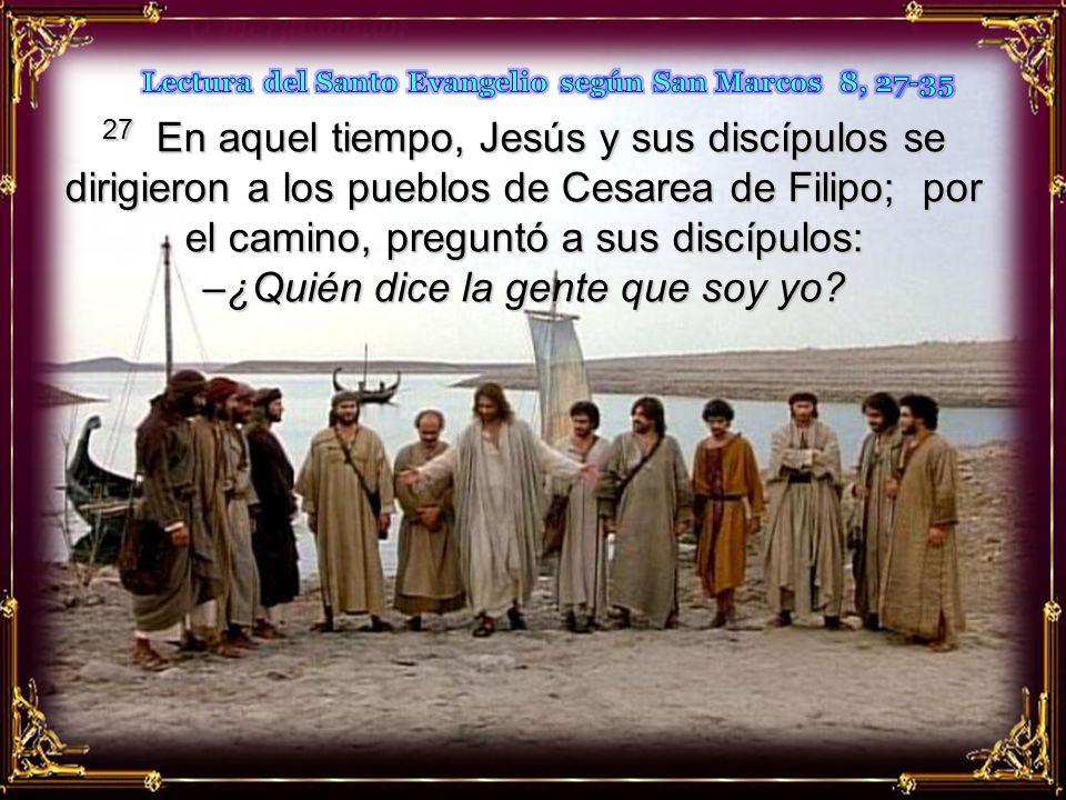 Mientras la multitud sigue sin identificar a Jesús, los discípulos dan un paso adelante al confesar que es el Mesías.