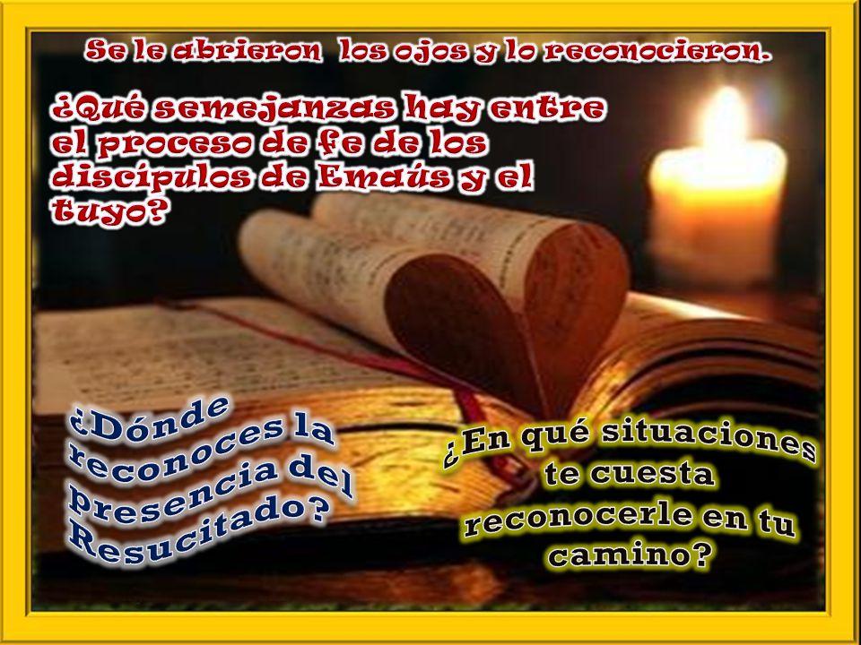 II. MEDITATIO ¿Qué me dice? ¿Qué nos dice el Texto? Todas esas presencias se hacen más vivas cada vez que celebramos la Eucaristía y rehacemos en ella