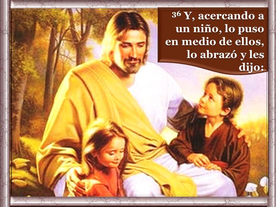 35 Jesús se sentó, llamó a los doce y les dijo: – «Quien quiera ser el primero, que sea el último de todos y el servidor de todos». 12