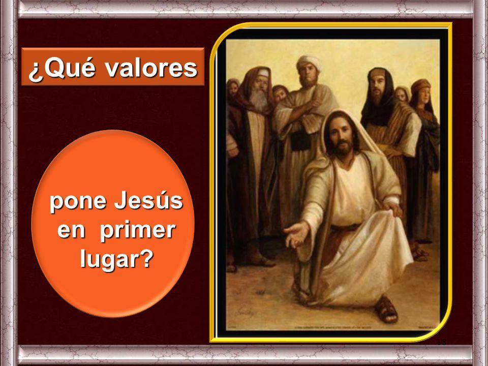 ¿cuáles son los valores que preocupan a los discípulos? En la discusión por el camino, 17