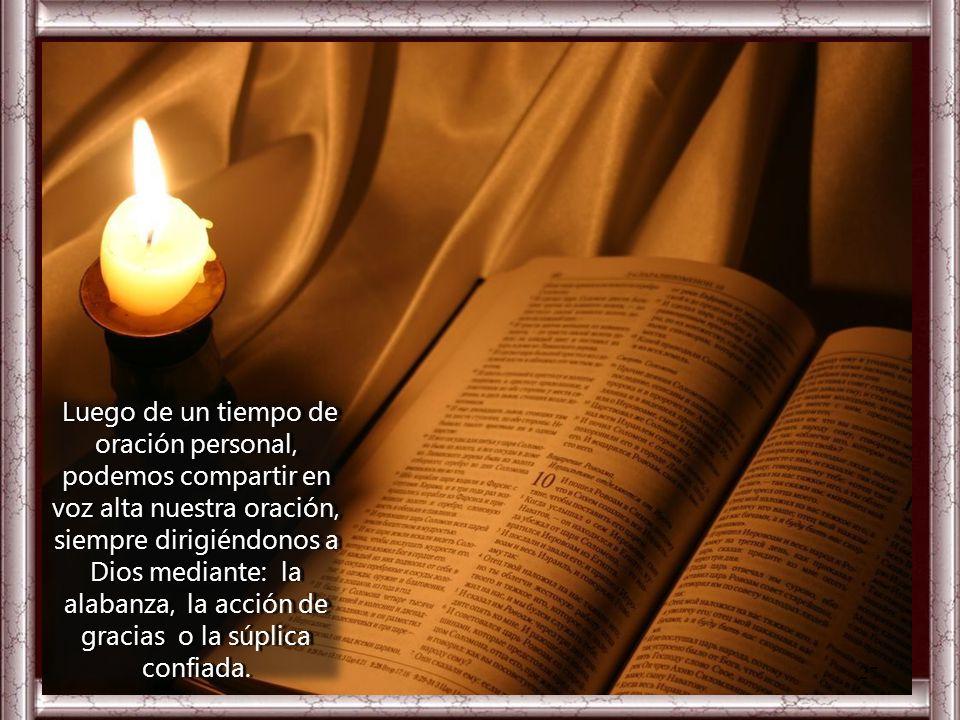 Esta enseñanza también está dirigida a cada uno de nosotros. ¿Qué le digo al Señor motivado por su Palabra? III. ORATIO La humildad y el servicio no s
