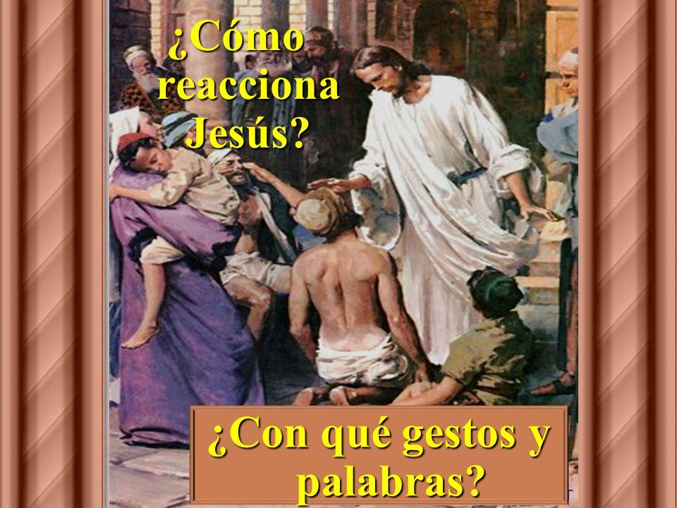 Preguntas para la lectura: ¿Cómo se inicia el relato? ¿Quién se le acerca a Jesús?