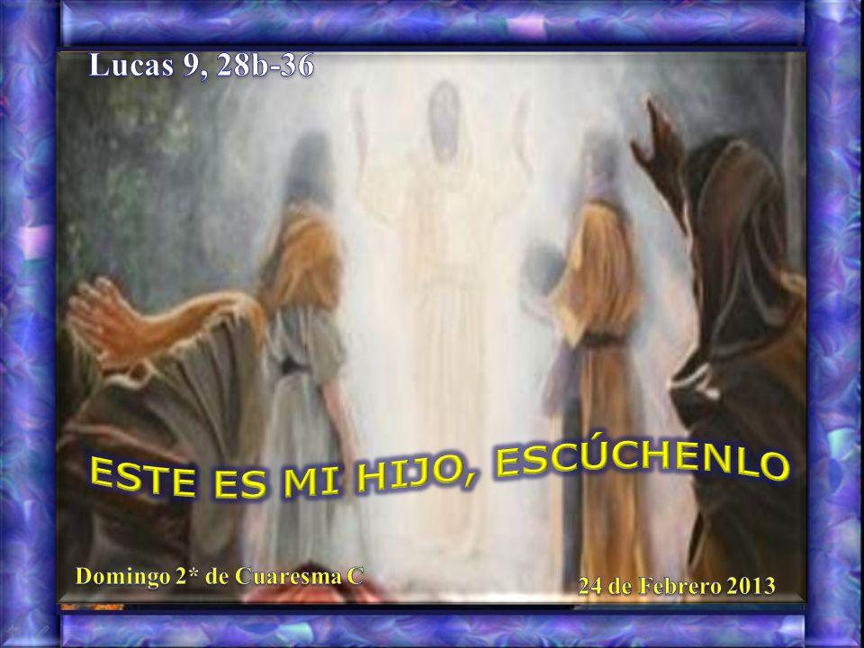 33 Mientras éstos se alejaban, dijo Pedro a Jesús: –«Maestro, ¡qué bien se está aquí.