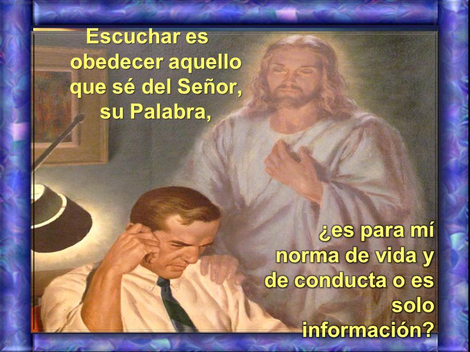 Dios Padre nos pide escuchar a su HIJO, ¿de qué manera lo hago?, ¿cuál es mi actitud en este sentido?