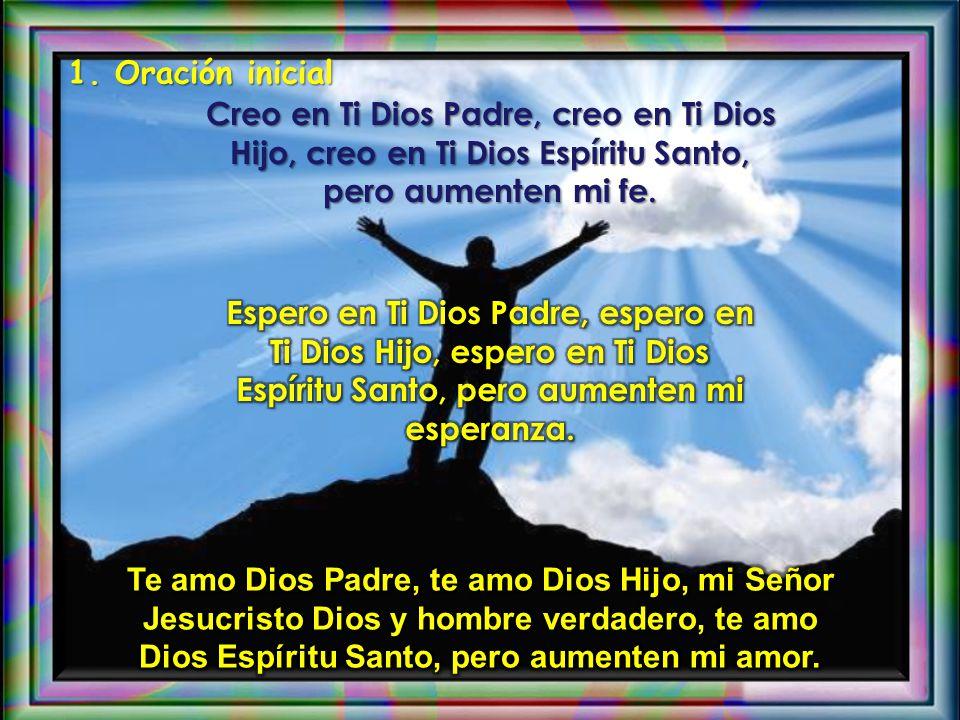 AMBIENTACIÓN: Queremos descubrir a Dios como el Padre que a nadie olvida, a nadie abandona, siempre nos protege. La fiesta de la Santísima Trinidad no