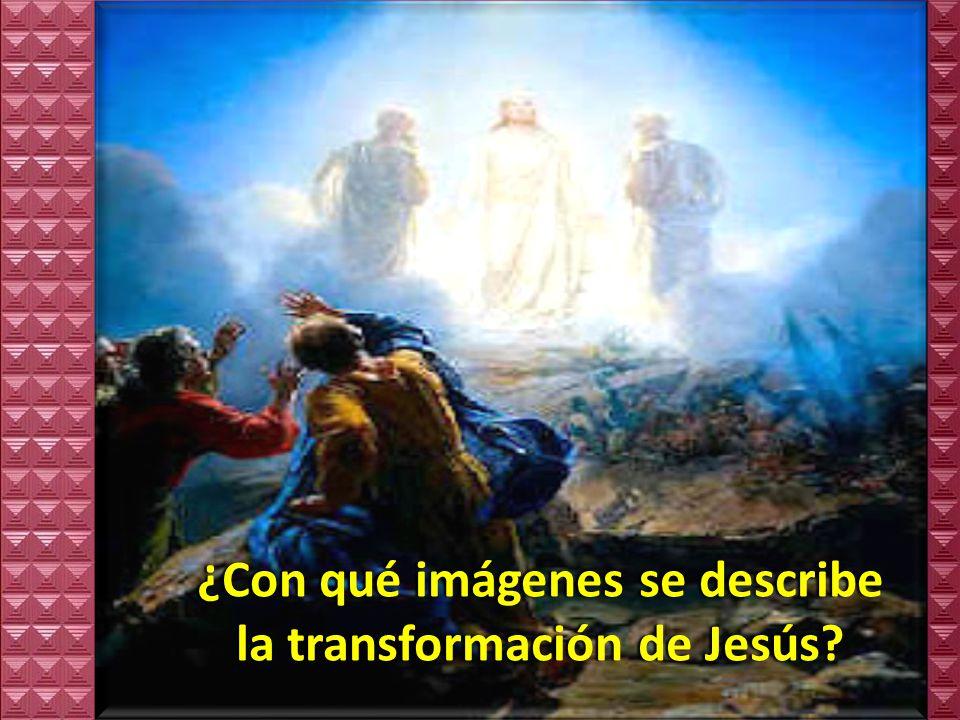 Preguntas para la lectura:Preguntas para la lectura: ¿Con quiénes sube Jesús a la montaña.