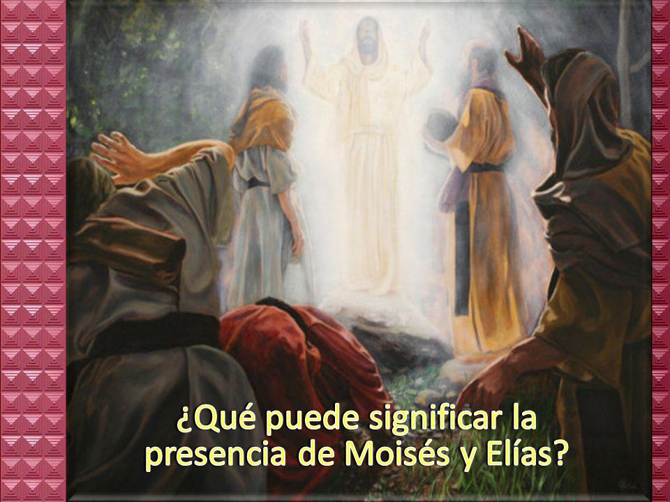 ¿Con qué imágenes se describe la transformación de Jesús?