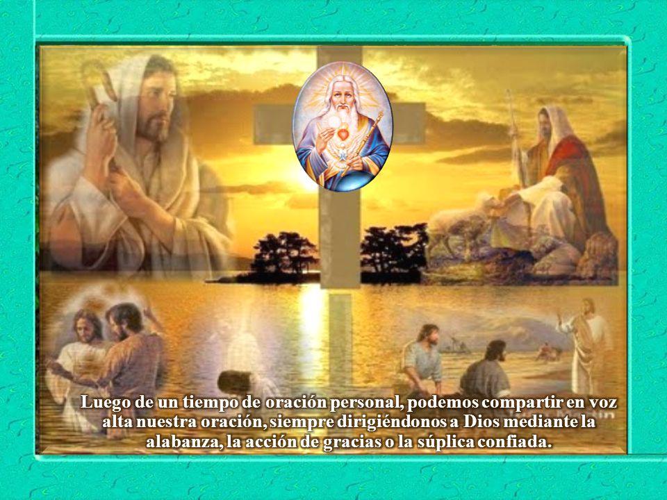 III. ORATIO ¿Qué le digo al Señor motivado por su Palabra? Mucho antes que ser una tarea nuestra, la llegada del Reino es obra de Dios. Por eso debemo