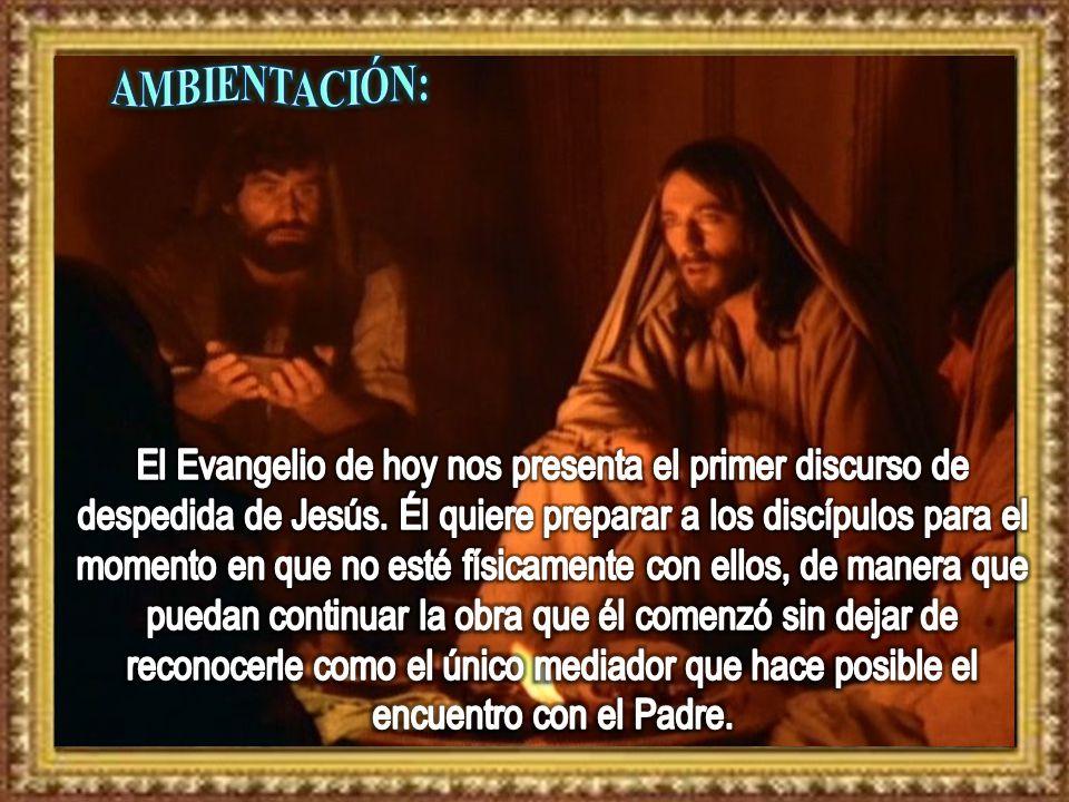 8 Felipe le dice: - Señor, muéstranos al Padre y nos basta.