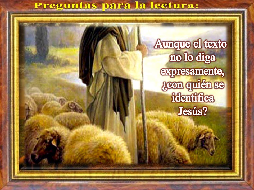 Cada uno puede leer en voz alta el versículo que más le llamó la atención. Juan 10, 27-30