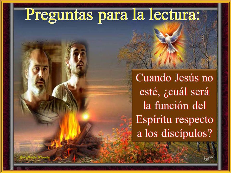 Juan 16, 12-15 En aquel tiempo, dijo Jesús a sus discípulos: 12 « Muchas cosas me quedan por decirles, pero ustedes no las pueden comprender por ahora
