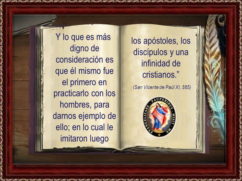 así nos lo ordena Jesucristo, lo mismo que a todos los cristianos, cuando dice: Amad a vuestros enemigos, haced el bien a los que os odian y rezad por los que os persiguen y calumnian .