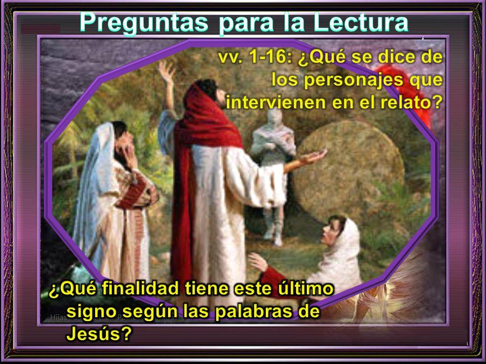---/--- 32 Cuando llegó María a donde estaba Jesús, al verlo se echó a sus pies diciéndole: - Señor, si hubieras estado aquí, no habría muerto mi hermano.