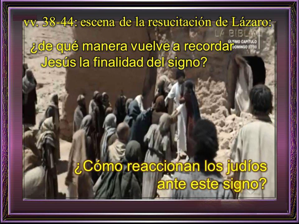 vv. 17-37: ¿Con qué palabras reciben Marta y María a Jesús? ¿De qué manera crece ¿De qué manera crece la fe de Marta a medida que dialoga con el Señor