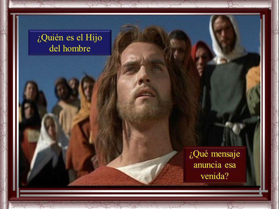 Preguntas para la lectura: ¿Con qué signos anuncia Jesús la venida del Hijo del hombre?
