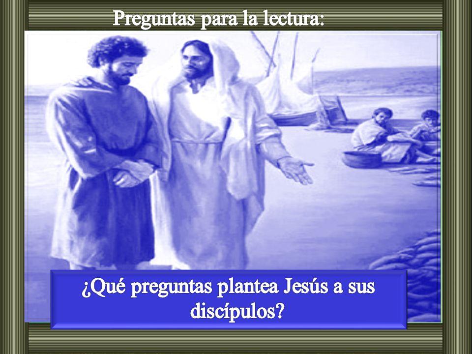 Lc 9, 18-24 Una vez que Jesús estaba orando solo, en presencia de sus discípulos, les preguntó: