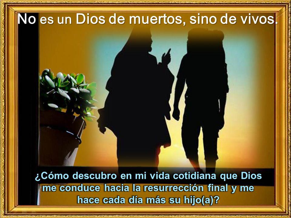 Son hijos de Dios porque han resucitado: