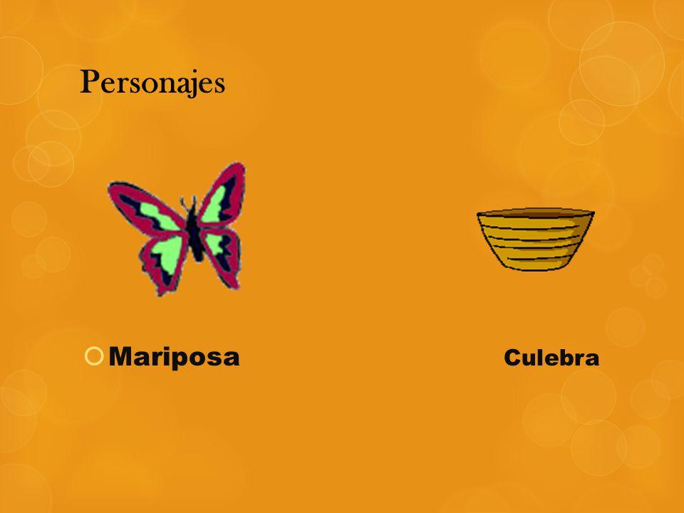 Personajes Mariposa Culebra