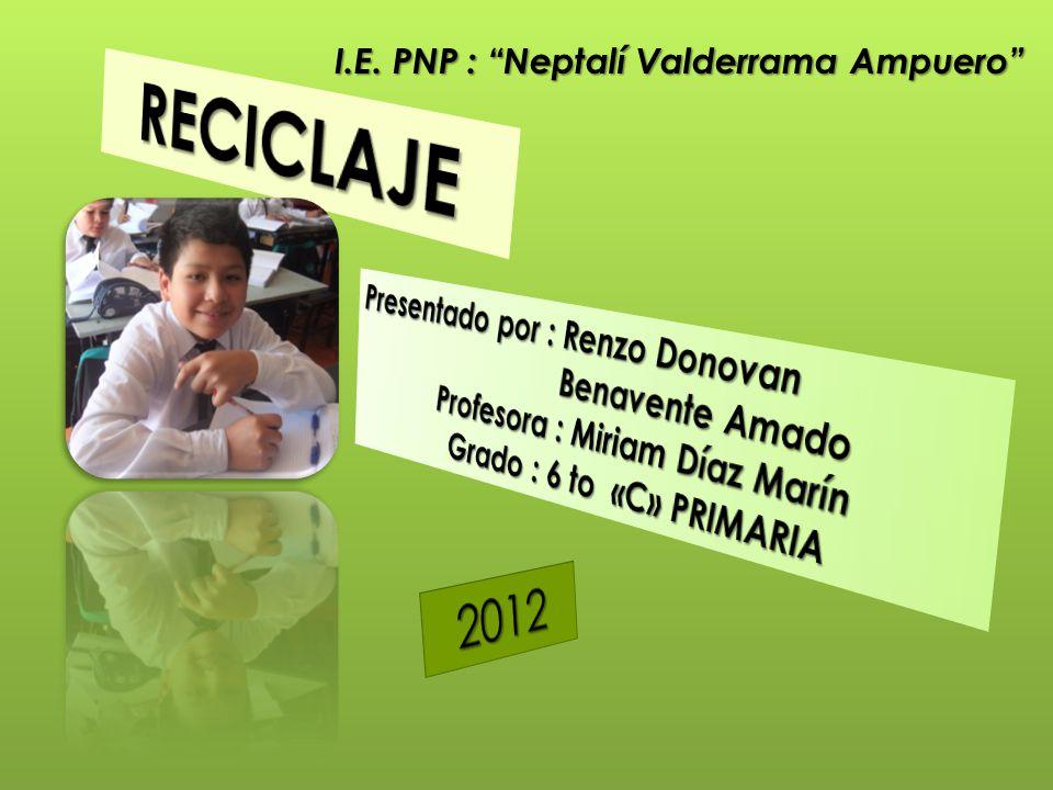 I.E. PNP : Neptalí Valderrama Ampuero