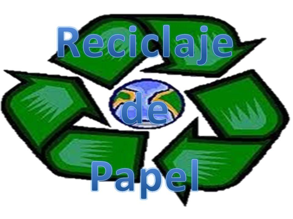 El reciclaje de papel es el proceso de recuperación de papel ya utilizado para transformarlo en nuevos productos de papel.